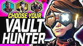 Borderlands 3 Vault Hunter Picking Guide - 75 hours+ Gametime Opinions (Who Should You Play?)
