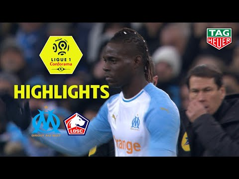Olympique de Marseille - LOSC ( 1-2 ) - Highlights - (OM - LOSC) / 2018-19