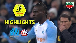Olympique de Marseille - LOSC ( 1-2 ) - Highlights - (OM - LOSC) / 2018-19