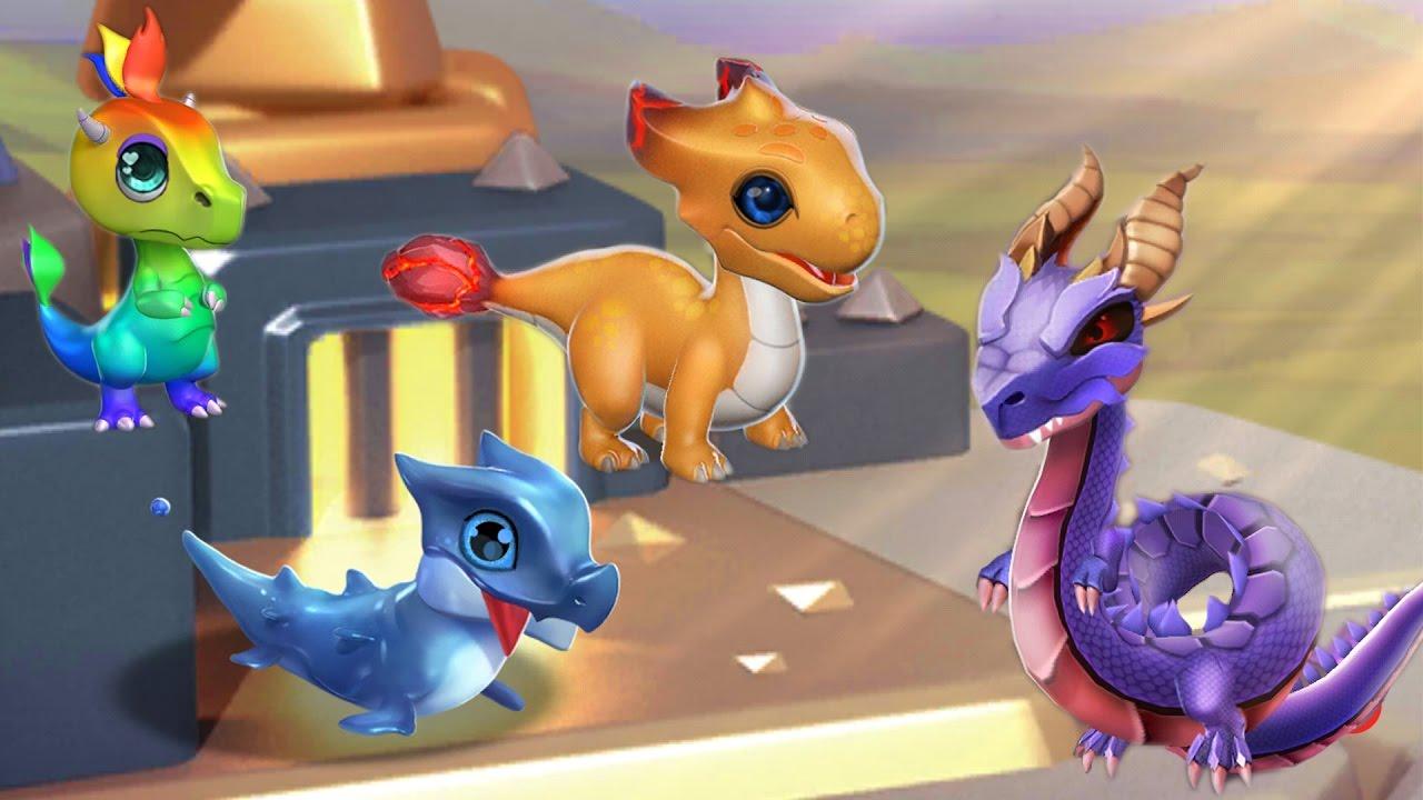 Фото драконов в игре легенды дракономании