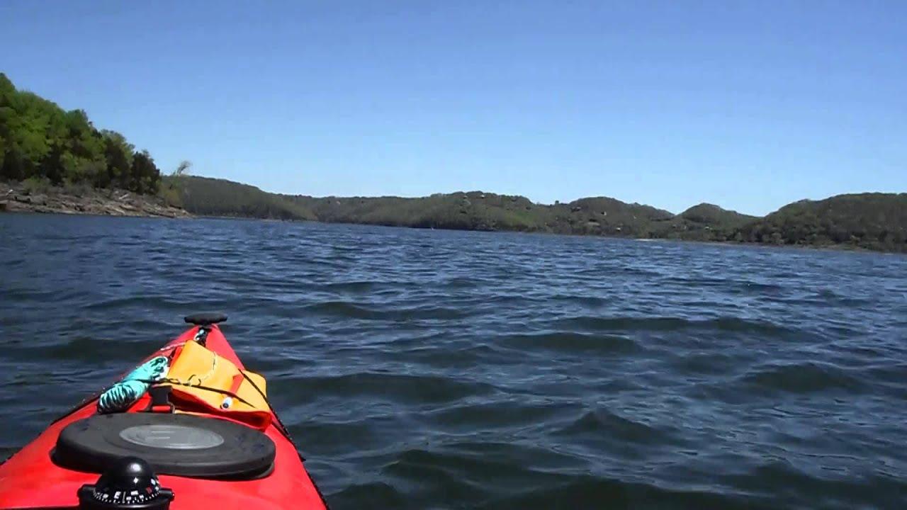 Kayak trip center hill lake youtube for Center hill lake fishing report