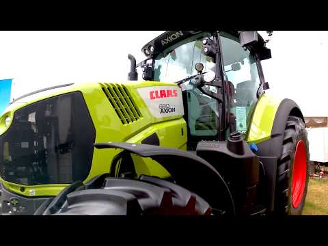 2019 Claas Axion 830 6.7 Litre 6-Cyl Diesel Tractor (225/240HP)