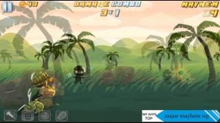Major Mayhem WP - WindowsPhone Gameplay