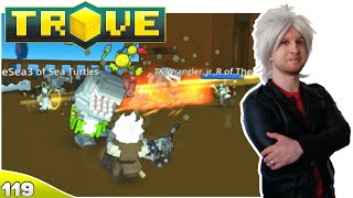 Scythe Plays Trove ✪ Shark Attack!! #119