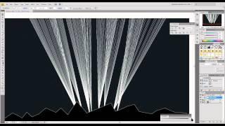 Create a Dazzling Aurora Borealis - Part 1