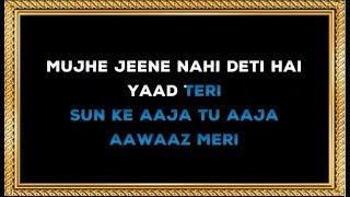 Mujhe Jeene Nahin Deti - Karaoke - Bomb Blast - Mohammad Aziz & Kavita Krishnamurthy