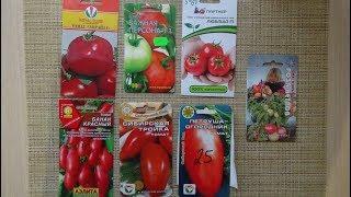 Сорта томатов для открытого грунта. Кострома. 2018г.
