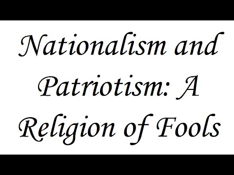 essays on nationalism and patriotism