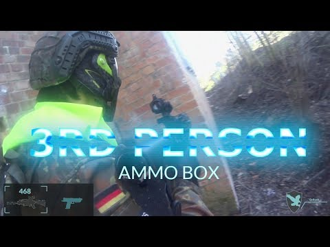 """Hard-Sports """"Ammo Box"""" 3rd person magfed paintball"""