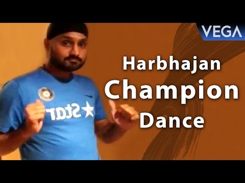 Harbajan Singh Dances On Dj Bravo Champion...