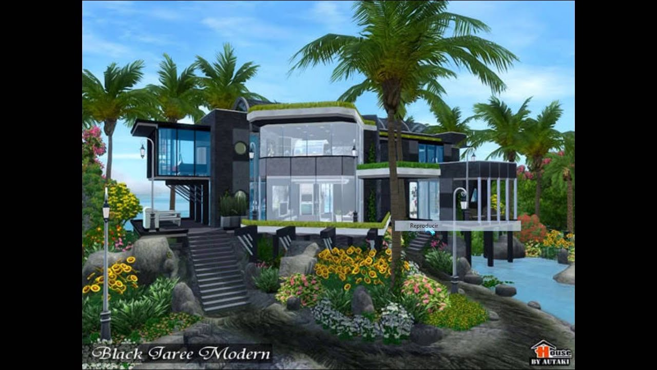Descargas casa moderna los sims 3 youtube for Casa moderna ud