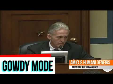 Trey Gowdy Finds Out IRS Employees Destroy Federal Records After Subpoena s