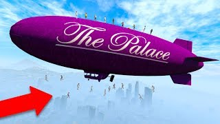I went into PASSIVE MODE while EVERYONE was on my BLIMP! *HILARIOUS!* | GTA 5 THUG LIFE #275