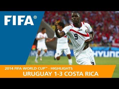 URUGUAY v COSTA RICA (1:3) - 2014 FIFA World Cup™