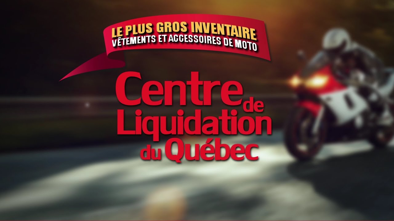 Liquidation accessoires moto quebec