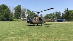 Huey taking off Memorial Day: 29 May 2017 Hillsboro, Oregon