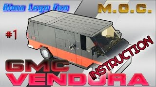 gMC VANDURA How to build Lego Лего самоделка GMC VENDURA