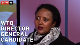 Eyewitness News had a virtual chat with Kenya's Dr Amina Mohamed who is one of four candidates contesting the race for World Trade Organisation Director General.  #WTO #AminaMohamed