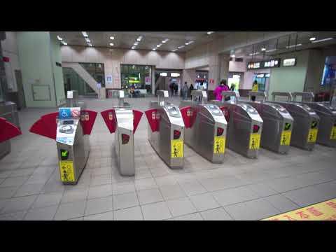 Taiwan, Taipei, ZHONGXIAO FUXING MRT Station, 17X escalator, 4X elevator