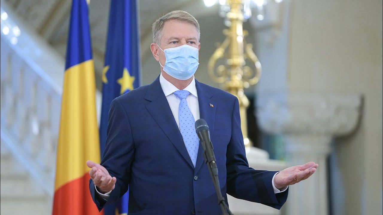 Ediție Specială Știrile Europa FM: Klaus Iohannis susține declarații de presă, la Palatul Cotroceni