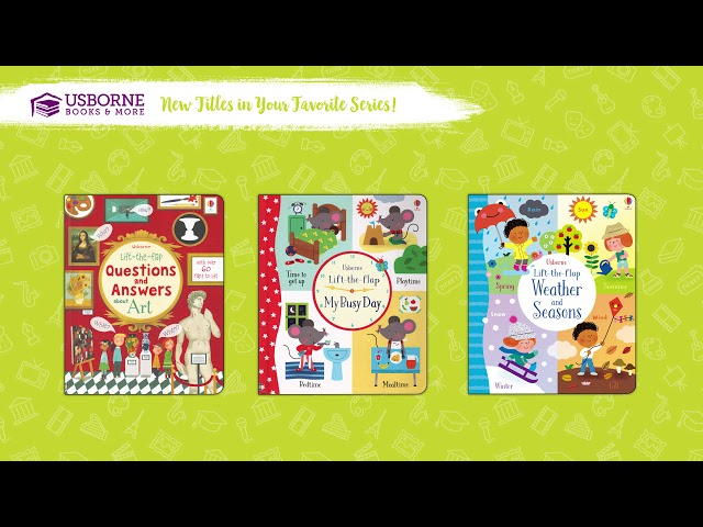 Fall 2018 New Titles-Favorite Series Books From Usborne Books & More!