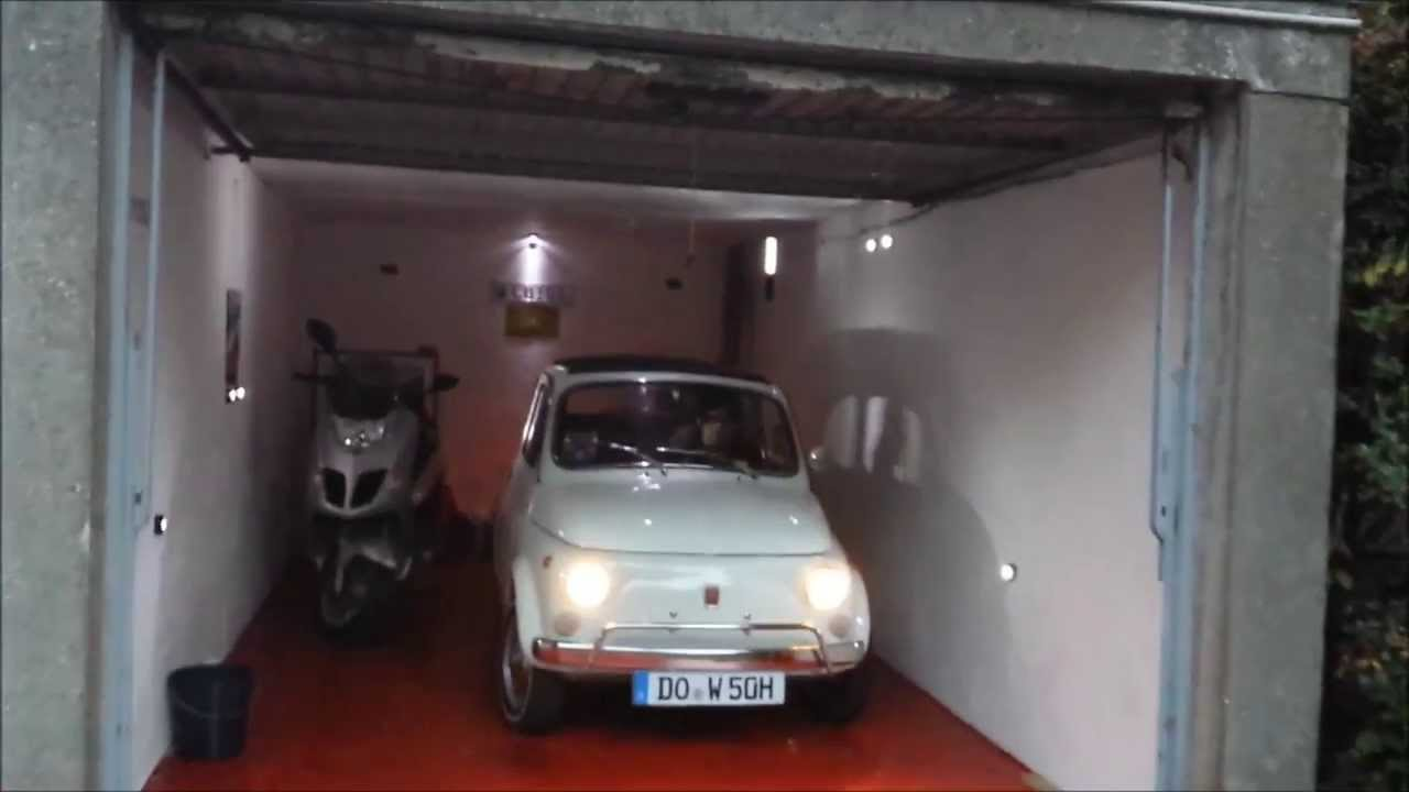 Luigis garage fiat 500 l oldtimer youtube for Garage fiat 94