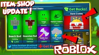(Code) NEW ITEM SHOP UPDATE IN ROBLOX FORTNITE! - Island Royale *Come Join!*