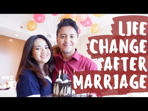 VLOG - Sharing Life Change after Marriage & Surprise Ulang Tahun Suami :)