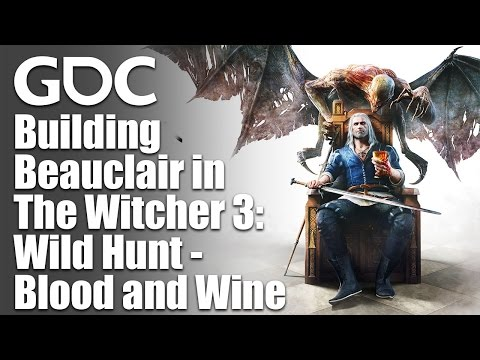 Building Beauclair in The Witcher 3: Wild Hunt - Blood and Wine