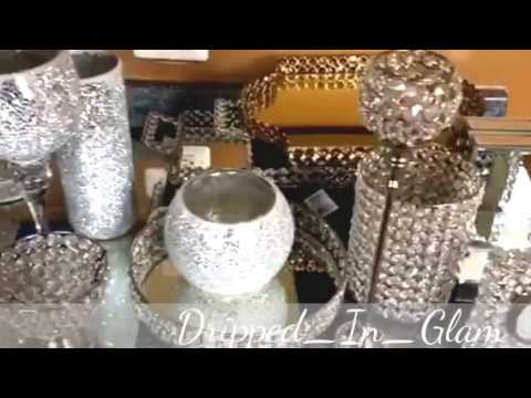glam home decor haul *homegoods/ross/burlington - youtube