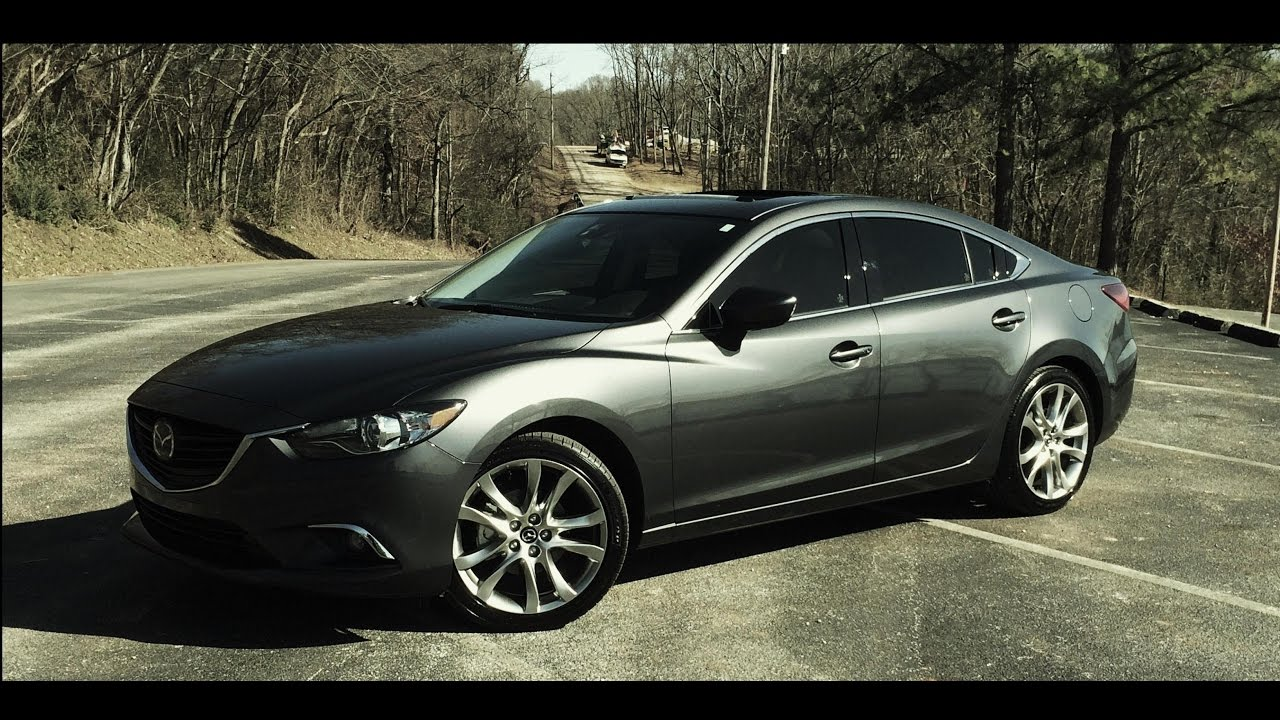 Mazda 3 Colors >> Mazda 6 2.5L - Top Speed - (Sport/Manual/Drive Mode) - YouTube