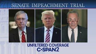 U.S. Senate: Impeachment Trial (Day 6)-CSPAN