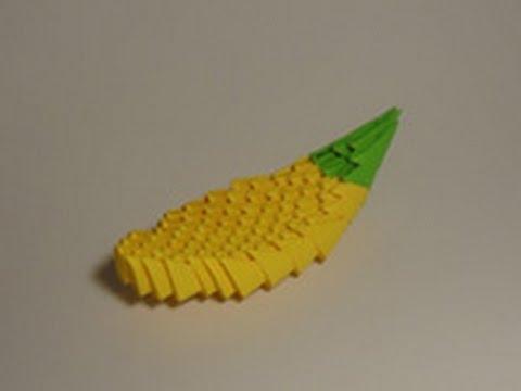 Модульное оригами фрукты и