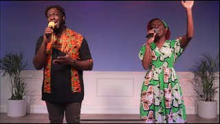 "Christine Jobson  & Dayne Malcolm sing David Phelps' ""No More Night"""