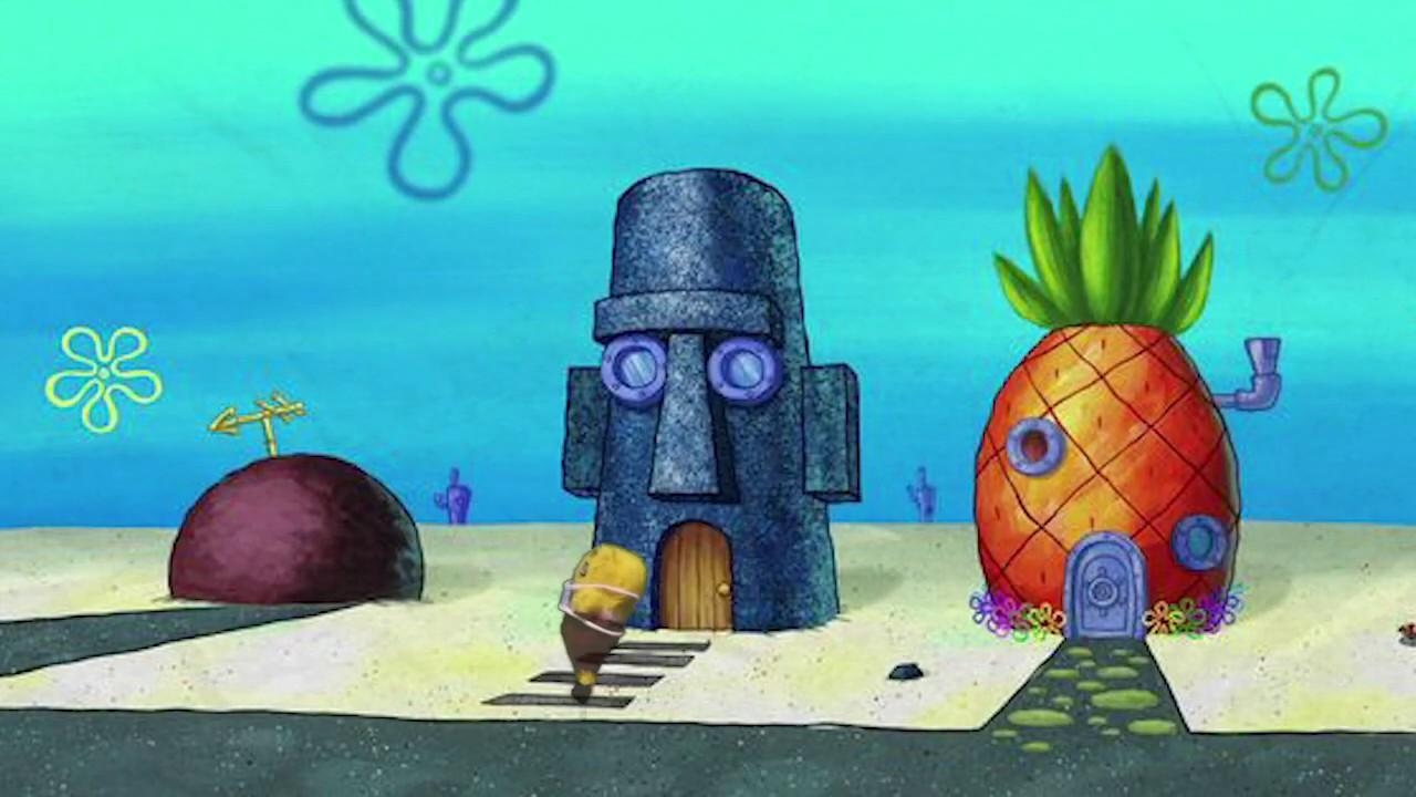 Korall Spongebob