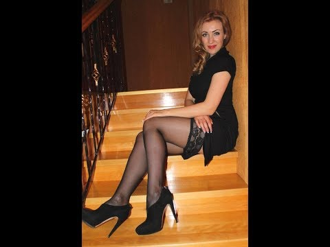 Gorgeous Russian Women With Stockings And Heels
