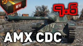 aMX CDC Chasseur de Chars World of Tanks (wot) 9.6