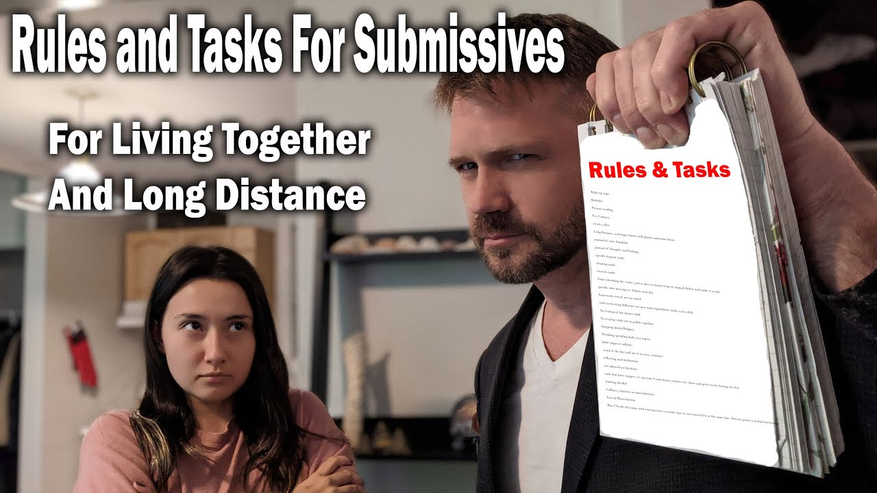 List of Tasks and Rules for Submissives either Together or