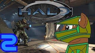 Halo: Combat Evolved Anniversary (blind) [02]: Chaos und viele Gegner