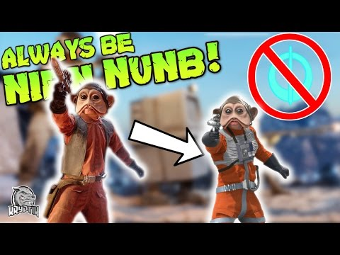 BE NIEN NUNB WITHOUT A PICKUP?! - Star Wars Battlefront