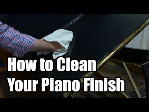 How to Clean Your Piano Finish