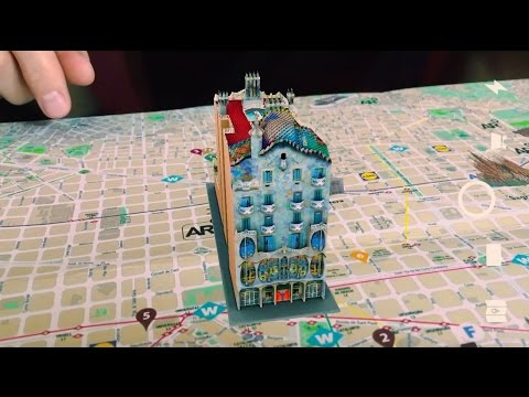AR Mapp - Augmented Reality Map Barcelona - Smartech Group
