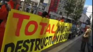 Greenpeace Grenoble : Total invente la destruction durable