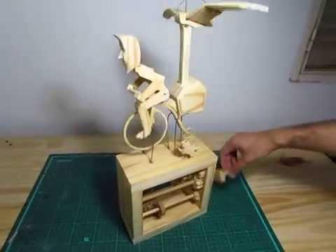 Proyecto de automata steampunk de madera youtube - Proyectos de madera ...