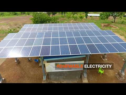 In Ghana, Solar-Powered Mini-Grids Bring Security and New Economic Opportunities