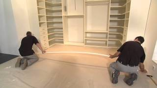 Repeat youtube video Sliding Doors & Closet Installation
