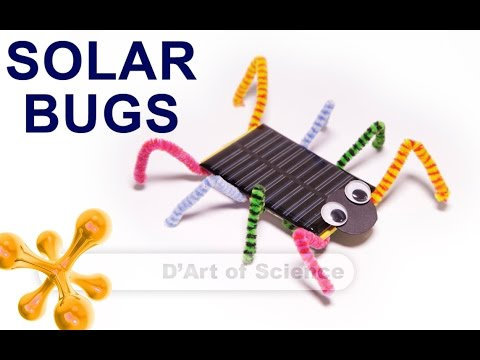 How To Make A Solar Powered Bug Youtube