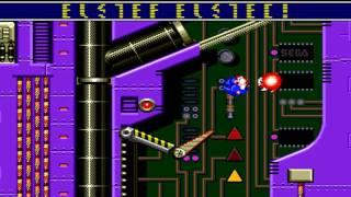 Sonic Spinball Walkthrough