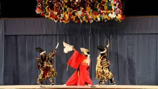 津浪神楽団 大楠公 第34回広島県西部神楽競演大会(優勝)