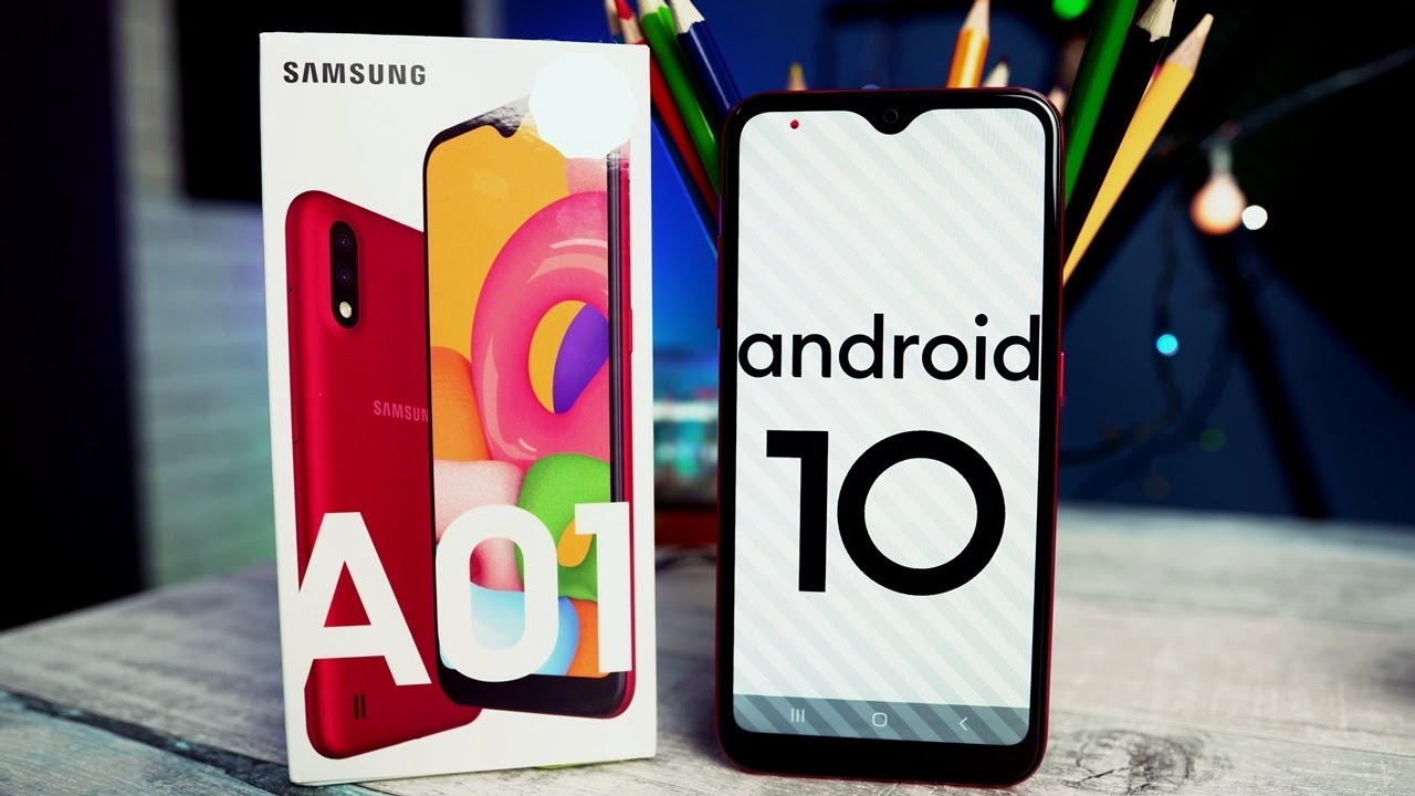 Galaxy A01 Unboxing Youtube
